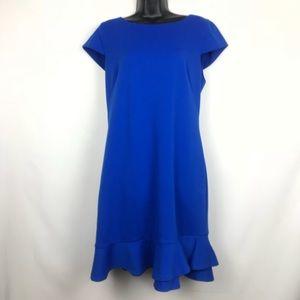 Karl Lagerfeld Paris Cobalt Blue Dress